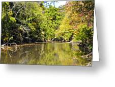 The Quiet Wissahickon Greeting Card