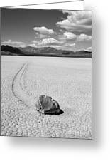 Death Valley California The Racetrack 2 Greeting Card