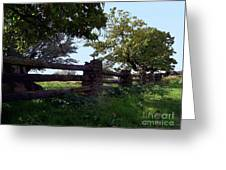 The Rail Fence Greeting Card