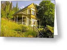 The Rainbow House Greeting Card