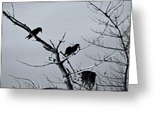 The Raven Tree Greeting Card