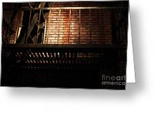 The Rear Window - 7d17463 Greeting Card