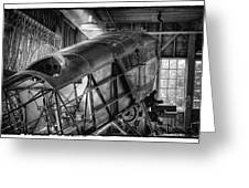The Red Barn Of The Boeing Company IIi Greeting Card