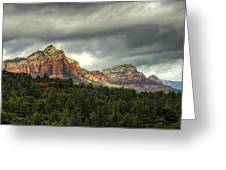 The Red Rocks Of Sedona  Greeting Card