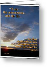 The Resurrection Greeting Card by Glenn McCarthy Art and Photography