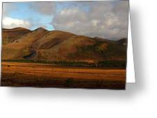 The Richardson Mountains At The Arctic Greeting Card