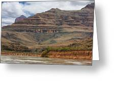 The Riverbend-grand Canyon Perspective Greeting Card