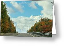 The Road To Heaven Greeting Card