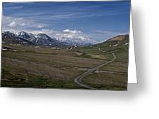 The Road To The Great One Greeting Card