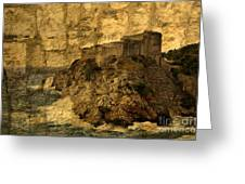 The Rock In Dubrovnik Greeting Card