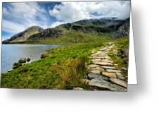 The Rocky Path Greeting Card