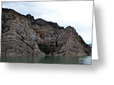 The Rocky's In The Reservoir Greeting Card