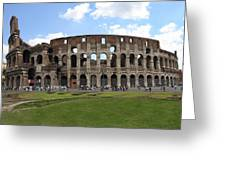 The Rome Coliseum Greeting Card
