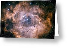 The Rosette Nebula Greeting Card
