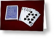 The Royal Flash Greeting Card