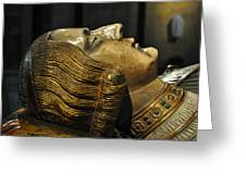 The Royal Tomb Of Count Gerard Van Gelder Iv Greeting Card