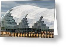 The Sage Building Greeting Card