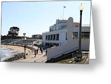 The Sala Burton Building . Maritime Museum . San Francisco California . 7d13993 Greeting Card