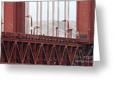 The San Francisco Golden Gate Bridge - 7d19060 Greeting Card