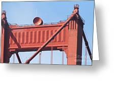 The San Francisco Golden Gate Bridge - 7d19108 Greeting Card by Wingsdomain Art and Photography