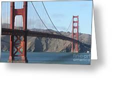 The San Francisco Golden Gate Bridge - 7d19184 Greeting Card