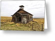 The School House Greeting Card