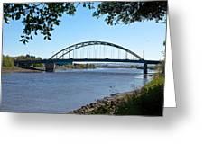 The Scotswood Bridge Greeting Card