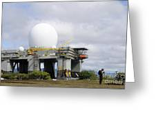 The Sea Based X-band Radar, Ford Greeting Card