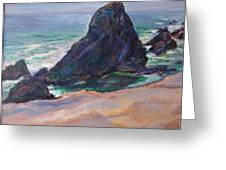 The Seal Rock March Greeting Card