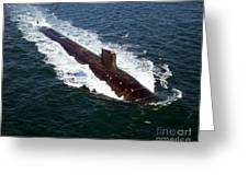 The Seawolf-class Nuclear-powered Greeting Card