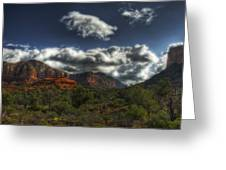 The Serenity Of Sedona  Greeting Card