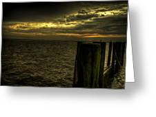 The Setting Bay Greeting Card