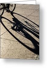 The Shadow That Follows Greeting Card
