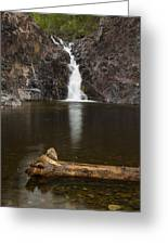 The Shallows Waterfall 2 Greeting Card