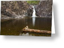 The Shallows Waterfall 3 Greeting Card