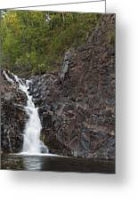 The Shallows Waterfall 4 Greeting Card