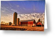 The Skittles Barn Greeting Card