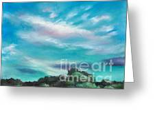 The Sky That Day Greeting Card