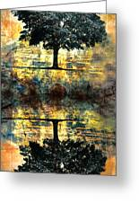 The Small Dreams Of Trees Greeting Card