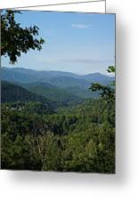 The Smoky Mountains Greeting Card