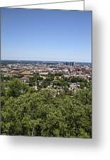 The Southern City Of Birmingham Alabama Greeting Card