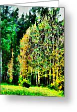 The Speckled Trees Greeting Card