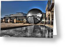 The Sphere At Bristol Greeting Card