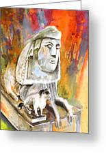 The Sphinx Of Petraion Greeting Card