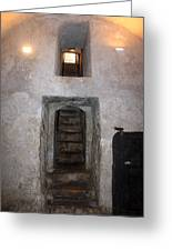 The Stairs To John The Baptist Tomb Greeting Card