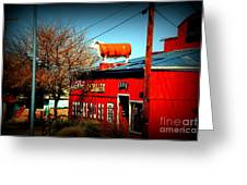 The Steakhouse On Route 66 Greeting Card