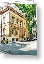 The Streets Of London Greeting Card