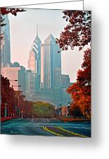 The Streets Of Philadelphia Greeting Card