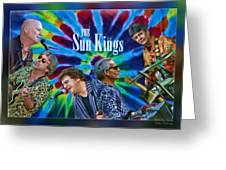 The Sun Kings Greeting Card