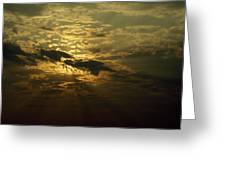 The Sun Obscured By A Late Afternoon Greeting Card